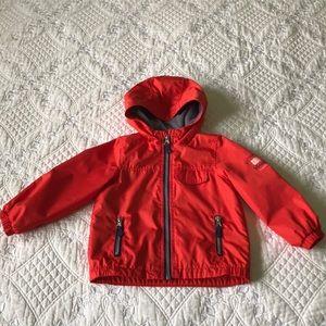 Carter's Hooded Red Rain Jacket - Sz 24mon